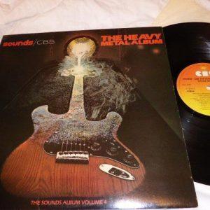 VARIOUS - SOUNDS - THE HEAVY METAL ALBUM