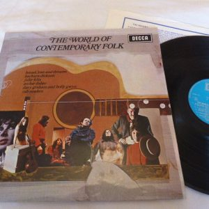 VARIOUS ARTISTS - THE WORLD OF CONTEMPORARY FOLK