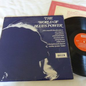 VARIOUS ARTISTS -  THE WORLD OF BLUES POWER